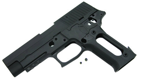 Guarder Aluminium Slide and Frame for MARUI P226 - Black/Blank